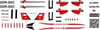 Let L-410 Turbolet Interflug decal 1\100
