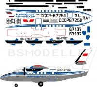 Let L-410 Aeroflot 80-th decal 1\48