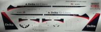 Boeing 737-400 Delta airlines decal 1\144