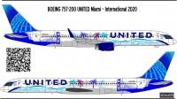 Boeing 757-200 United N14106 decal 1\144