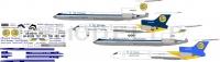 Tupolev Tu-154 Air Ukraine decal 1\100