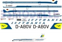 Boeing 707 Lufthansa decal 1\100