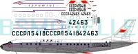 Tupolev Tu-104A Aeroflot  1/100
