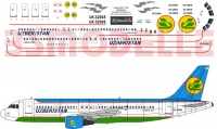 Airbus A320 Uzbekistan Airlines decal 1\144