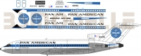 Boeing 727 Pan Am decal 1\100