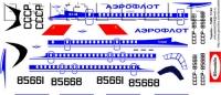 Tupolev Tu-154M Aeroflot 80-th decal 1\144