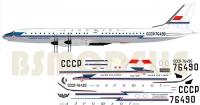 Tupolev Tu-114 Aeroflot decal 1\144