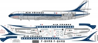 Sud SE210 Caravelle Air France decal 1\144