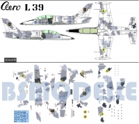 Decal set Aero L-39 Ukraine air force 1\72