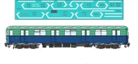 Metro car type E decal 1\87