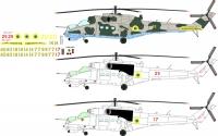 Mil Mi-24 Ukraine AF decal 1\48