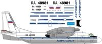 Antonov An-32 Aeroflot USSR decal 1\72
