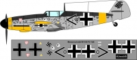 Messershmit Bf-109 F2 Luftwaffe decal 1\48