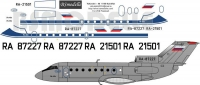 Yakovlev Yak-40 UMPO decal 1\100