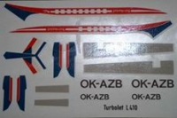 Let L-410 OK-AZB decal 1\100