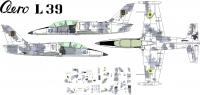 Aero L-39 Ukraine AF decal 1\144