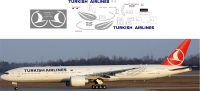 Boeing 777 Turkish Airlines decal 1\144