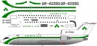 Yalovlev Yak-42D Crimea Air decal 1\144