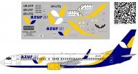 Boeing 737 -800 Azur Air Ukraine 1/144