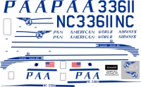 Douglas DC-3 PAA decal scale 1\48