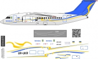 Antonov An-148 UR-UKR decal 1\144