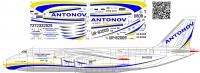 Antonov An-124 Ruslan Antonov Airlines decal 1\72