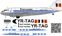 Li-2 Romanian Air Transport Tarom decal 1\72