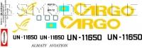 Antonov An-12 Cargo Kazakhstan decal 1\100