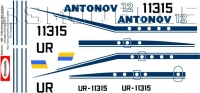 Antonov An-12 Home colours 90-th decal 1\100