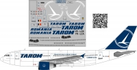 Airbus A-310 Tarom decal 1\100