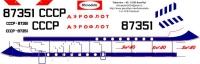 Yakovlev Yak-40 Aeroflot USSR decal 1\100