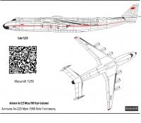 Antonov An-225 Antonov An-225 CCCP-480182 decal 1\144