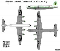 Douglas DC-4 TAI scale 1\72