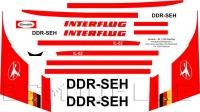 Ilyushin Il-62 INTERFLUG decal 1\100