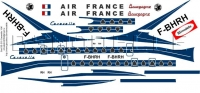 Sud SE210 Caravelle Air France decal 1\100