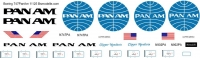 Boeing 747-100  Pan Am decal 1\125