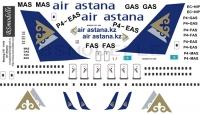 Boeing 757-200 Air Astana decal 1\144