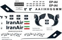 Boeing 747 Iran Air decal 1\100