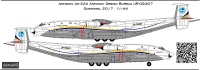 Antonov An-22A Antonov Airlines decal  1\144