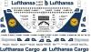 Boeing 737-200 Lufthansa decal 1\144