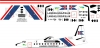 Fokker 27 Island coast guard decal 1\100