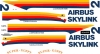 Aero Spacelines Super Guppy№2 Airbus Industrie decal 1\144