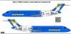 Boeing 717 Impulse Airlines Сockatoo decal 1\144
