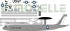 Boeing E-3 Sentry USAF decal 1\144