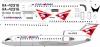 Yakovlev Yak-42 Saratov airlines decal 1\144