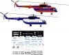 Mil Mi-8 Russian Polar aviation decal 1\72