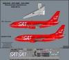 Декаль  Боинг 737-200