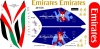 Airbus A-380 Emirates Los Angeles Dodgers Decal 1\144