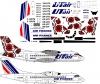 ATR-42 Ut Air Ukraine, Air France decal 1\144