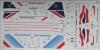 BAC Concorde British airways, Air France decal 1\144